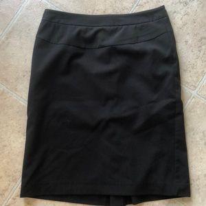 NWOT black worthington skirt